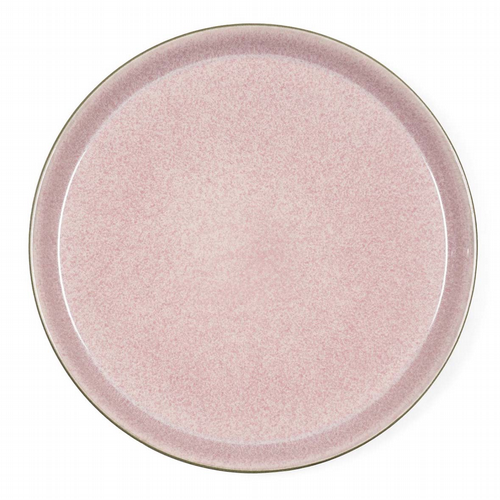 Stoneware - Plate 27 cm - Pink / Grey